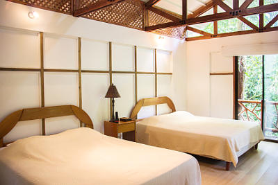 Photo from a room of a bungalow for holiday rental in Portasol, Costa Rica
