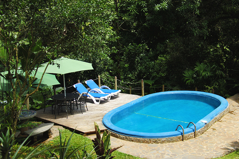 Photo of the pool in the rainforest in Portasol